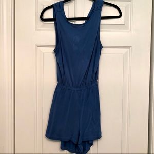 UO Silence + Noise Two Twisted Romper